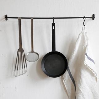 フォグリネンワーク(fog linen work)のフォグリネンワーク アイアンタオルバー(収納/キッチン雑貨)