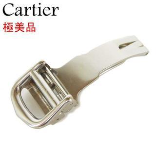 カルティエ(Cartier)のカルティエ 極美品 Dバックル デプロイメント バックル 腕時計 バンド(その他)