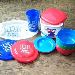 ミキハウス(mikihouse)のミキハウス プラスチック食器セット グローバルワーク  ランチプレートカップ(食器)
