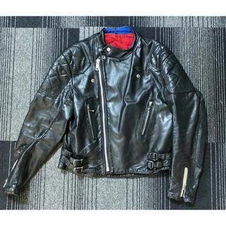 ルイスレザー(Lewis Leathers)の【希少】70年代 ライダースジャケット GTモンザ  レザージャケット  黒(ライダースジャケット)