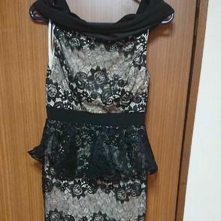 デイジーストア(dazzy store)のデイジーストア オフショルペプラムドレス(ミニドレス)