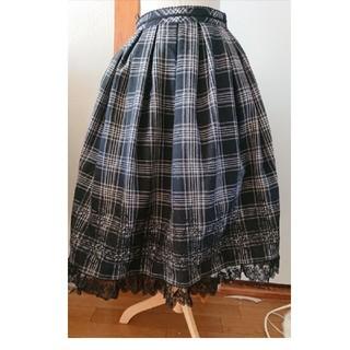 ヴィクトリアンメイデン(Victorian maiden)のヴィクトリアンメイデン   タータンチェック  ミディスカート(ひざ丈スカート)