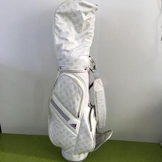 adidas - アディダスゴルフレディースキャディバッグ  バッグ
