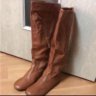 ローズバッド(ROSE BUD)のROSE BUD  レザーブーツ新品 24.0-24.5(ブーツ)