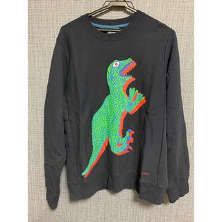 ポールスミス(Paul Smith)のポールスミス メンズ トレーナー 恐竜 ディノ(Tシャツ/カットソー(七分/長袖))