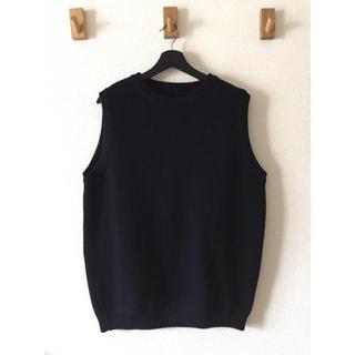 ワンエルディーケーセレクト(1LDK SELECT)のcrepuscule moss stitch vest(ベスト)