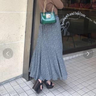 セシルマクビー(CECIL McBEE)の【CECIL McBEE】花柄マーメイドスカート(ロングスカート)