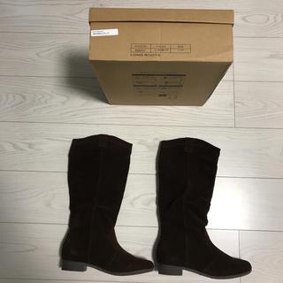 ニコアンド(niko and...)のニコアンドniko andブーツ新品未使用サイズ4ロングブーツ(ブーツ)