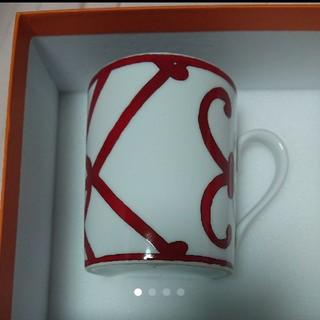 エルメス(Hermes)の新品未使用エルメス マグカップ HERMES ガダルキヴィール(グラス/カップ)