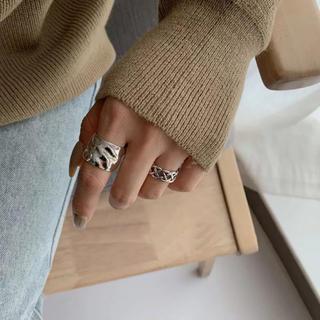 アングリッド(Ungrid)のsilver925 大ぶりシルバーリング♡(リング(指輪))