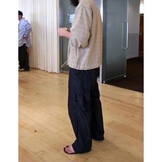 コモリ(COMOLI)の新品 AURALEE Light Nylon Fatigue Pantsサイズ5(ワークパンツ/カーゴパンツ)