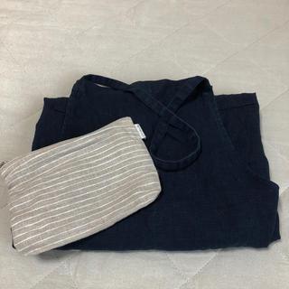 フォグリネンワーク(fog linen work)のfog linen work ロングエプロン(収納/キッチン雑貨)