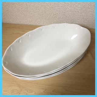 ベルメゾン(ベルメゾン)のパスタ・カレー皿 4枚(食器)