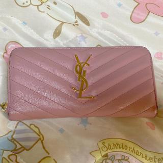 イヴサンローランボーテ(Yves Saint Laurent Beaute)のYSLピンク長財布(財布)