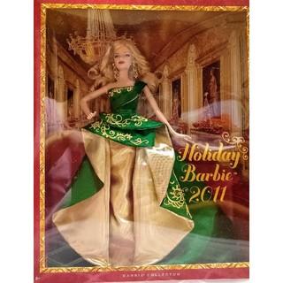 バービー(Barbie)の未開封未使用バービー・ホリディバービー2011(ぬいぐるみ/人形)