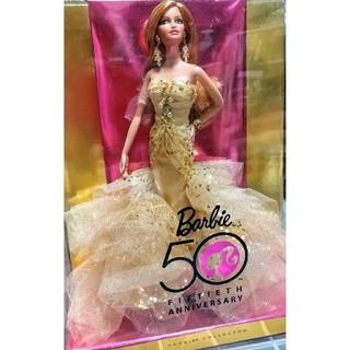 バービー(Barbie)の未使用バービー・ピンクレーベル50周年記念限定モデルバービー(ぬいぐるみ/人形)