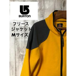 バートン(BURTON)のBURTON フリース ジャケット 黄×黒 Mサイズ バートン(ブルゾン)