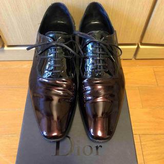 ディオールオム(DIOR HOMME)の正規 Dior Homme ディオールオム パテントレザー ドレスシューズ(ドレス/ビジネス)
