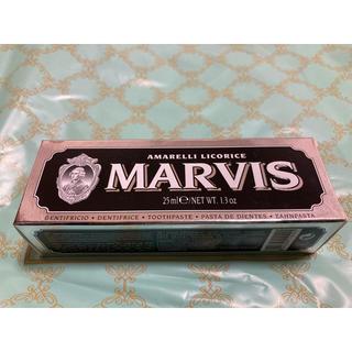 マービス(MARVIS)のマービス歯磨き粉 25ml(歯磨き粉)