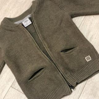ザラキッズ(ZARA KIDS)のZARAKIDS 子供服 ニット カーディガン(カーディガン)