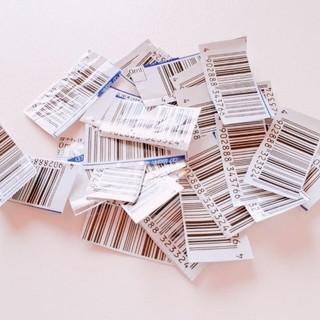 モリナガセイカ(森永製菓)の30枚 バーコードのみ チョコモナカジャンボ チョコモナカジャンボバーコード(その他)