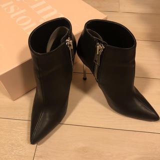 エイミーイストワール(eimy istoire)のeimy istoire ZIP motif ankle boots(ブーツ)