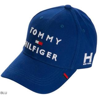 トミーヒルフィガー(TOMMY HILFIGER)のトミー ヒルフィガー ゴルフ 3段ロゴ キャップ(ウエア)