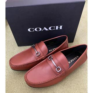 COACH - ☆新品未使用☆ コーチ 革靴 ローファー 茶色 27cm