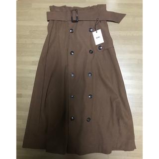 グレイル(GRL)の【新品タグ付き】GRL グレイル トレンチ ロングスカート(ロングスカート)