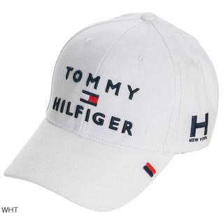 トミーヒルフィガー(TOMMY HILFIGER)のトミー ヒルフィガー ゴルフ 3段ロゴ キャップ  帽子(ウエア)