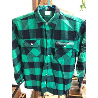 ロスコ(ROTHCO)の新品 ロスコ チェックシャツ グリーン XL(シャツ)