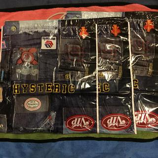 ヒステリックミニ(HYSTERIC MINI)のヒステリックミニ、ショップ袋、新品巾着、三枚セット売り(ランチボックス巾着)