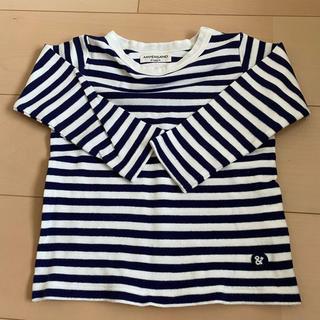 アンパサンド(ampersand)のロンT  カットソー トップス 長袖 ボーダー 100(Tシャツ/カットソー)