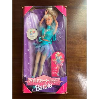 バービー(Barbie)のバービー人形 フィギュアスケーターバービー 長野五輪モデル(ぬいぐるみ/人形)