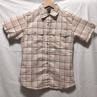 モンベル(mont bell)のモンベル チェックシャツ ピンク(シャツ/ブラウス(半袖/袖なし))