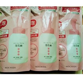 コラージュフルフル(コラージュフルフル)のコラージュフルフル 泡石鹸 ピンク 3個(ボディソープ/石鹸)