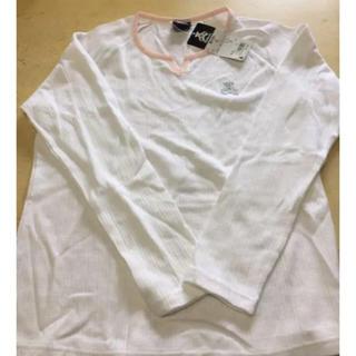 ウィルソン(wilson)の新品タグ付き ウィルソンベアー レディースロンT(Tシャツ(長袖/七分))