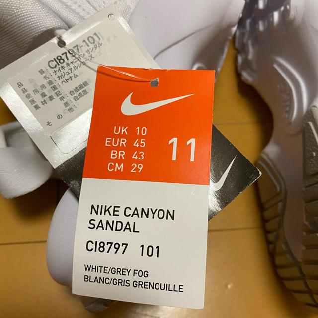 NIKE(ナイキ)の週末セール NIKE キャニオンサンダル 29 メンズの靴/シューズ(サンダル)の商品写真