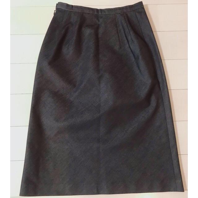 MICHEL KLEIN(ミッシェルクラン)の【中古品】MK MICHEL KLEIN エムケーミッシェルクラン スカート レディースのフォーマル/ドレス(スーツ)の商品写真