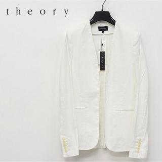 セオリー(theory)のtheory セオリー ノーカラージャケット セオリーリュクス (ノーカラージャケット)