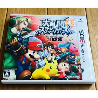 ニンテンドウ(任天堂)の大乱闘スマッシュブラザーズ 3DS スマブラ(携帯用ゲームソフト)