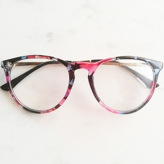 ザラ(ZARA)の柄フレーム だて眼鏡(サングラス/メガネ)
