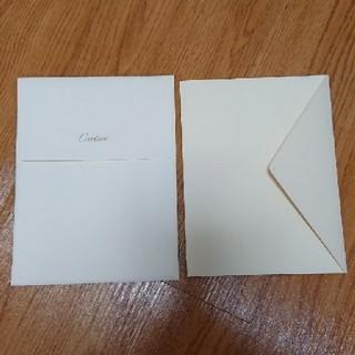 カルティエ(Cartier)のカルティエ 封筒 封筒もどき 2種類セット(カード/レター/ラッピング)