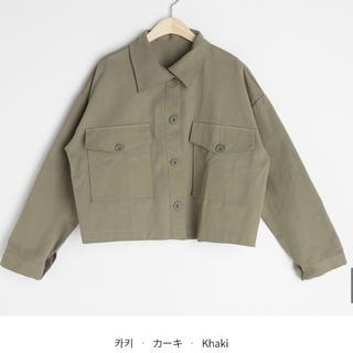 ディーホリック(dholic)のジャケット カーキ  アウター(Gジャン/デニムジャケット)