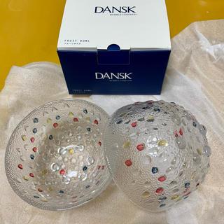 ダンスク(DANSK)のDANSK フルーツボウル ガラス 食器(食器)