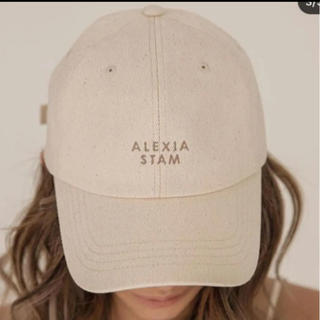 ALEXIA STAM - これ以上値下げなし。即完売 キャップ アリシアスタン