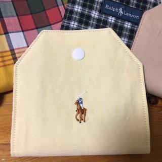 ラルフローレン(Ralph Lauren)のマスクケース 「黄色×青チェック】(その他)