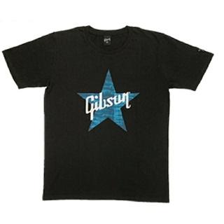 ギブソン(Gibson)のB'z ギブソン コラボTシャツ Gibson Star Black(Tシャツ/カットソー(半袖/袖なし))