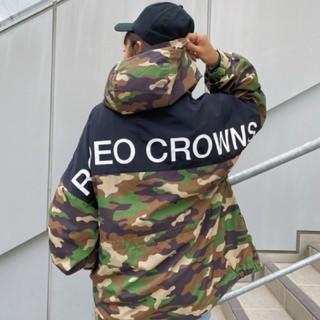 ロデオクラウンズワイドボウル(RODEO CROWNS WIDE BOWL)の新品 迷彩(男女兼用)早い者勝ちノーコメ即決しましょ❗️でも同梱で値引き交渉OK(ナイロンジャケット)
