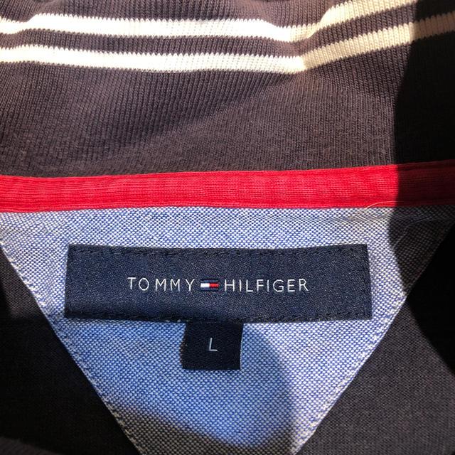 TOMMY HILFIGER(トミーヒルフィガー)のTOMMY HILFIGER ジッパー付き 長袖シャツ メンズ スポーツ/アウトドアのゴルフ(ウエア)の商品写真